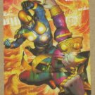 Marvel Heroes and Villains (Rittenhouse 2010) Parallel Card #23- Nova vs. Sphinx EX-MT