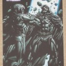 Marvel Heroes and Villains (Rittenhouse 2010) Parallel Card #66- Moon Knight vs. Midnight EX
