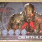 Marvel Heroes and Villains (Rittenhouse 2010) Most Wanted Card M5- Deathlok EX