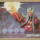 Marvel Heroes and Villains (Rittenhouse 2010) Most Wanted Card M6- Sphinx EX