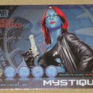 Marvel Heroes and Villains (Rittenhouse 2010) Most Wanted Card M9- Mystique EX