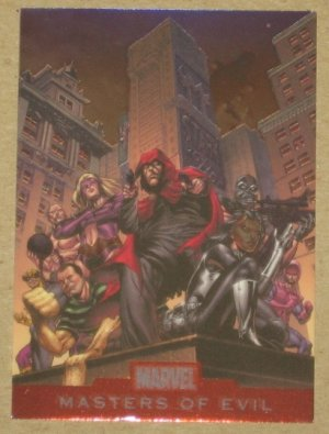 Marvel Heroes and Villains (Rittenhouse 2010) Alliances Card A18- Masters of Evil EX