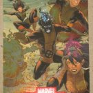 Marvel Heroes and Villains (Rittenhouse 2010) Alliances Card A1- New Mutants VG