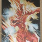 70 Years of Marvel Comics (Rittenhouse 2010) Metalic Ink Parallel Tribute Card T8- Human Torch EX-MT