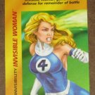 Marvel OverPower (Fleer 1995) - Invisible Woman Invisibility Card NM
