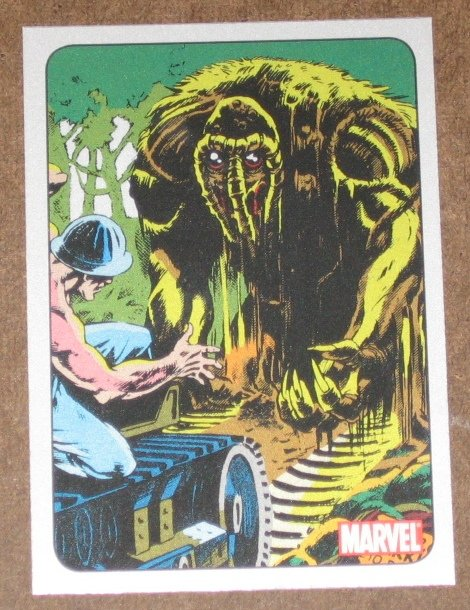 70 Years of Marvel Comics (Rittenhouse 2010) Metalic Ink Parallel Card #42- 1979 EX