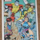 70 Years of Marvel Comics (Rittenhouse 2010) Metalic Ink Parallel Card #54- 1991 EX