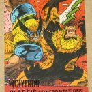 X-Men Origins: Wolverine Movie Classic Confrontations Card G2- Wolverine vs. Sabretooth EX-MT