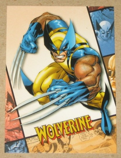 X-Men Origins Wolverine Movie Archives Card A4 EX-MT