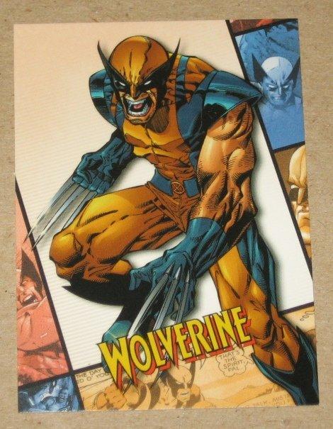 X-Men Origins Wolverine Movie Archives Card A8 EX-MT