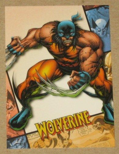 X-Men Origins Wolverine Movie Archives Card A6 EX
