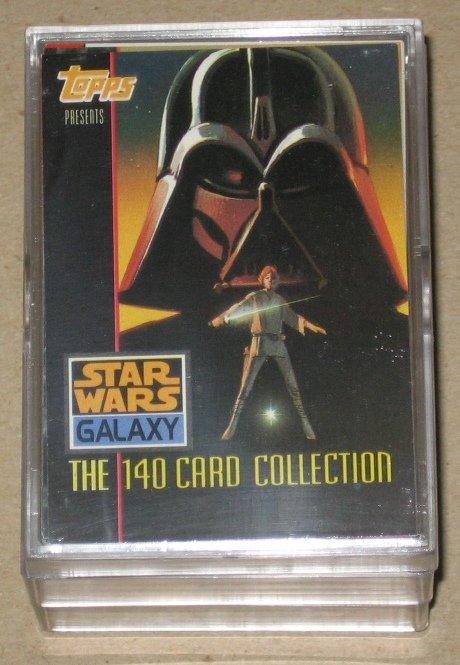 Star Wars Galaxy Series 1 (Topps 1993) - Full 140 Card Set EX