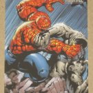 Marvel Heroes and Villains (Rittenhouse 2010) Parallel Card #31- Thing vs. Clay Golem NM