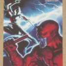 Marvel Heroes and Villains (Rittenhouse 2010) Parallel Card #54- Elektra vs. Skrull Daredevil NM