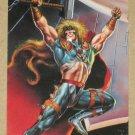 DC versus Marvel (Fleer/SkyBox 1995) Impact Card #1- Thor EX-MT