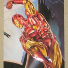 DC versus Marvel (Fleer/SkyBox 1995) Impact Card #3- Iron Man EX-MT