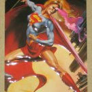 DC versus Marvel (Fleer/SkyBox 1995) Impact Card #11- Supergirl EX-MT