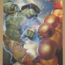 Marvel Heroes and Villains (Rittenhouse 2010) Parallel Card #3- Skaar vs. Juggernaut EX-MT