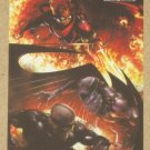 Marvel Heroes and Villains (Rittenhouse 2010) Parallel Card #37- Archangel & Vanisher vs. Pyro EX-MT