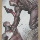 Marvel Heroes and Villains (Rittenhouse 2010) Parallel Card #75- U.S. Agent vs. Nuke EX-MT