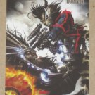 Marvel Heroes and Villains (Rittenhouse 2010) Parallel Card #49- Rocket Raccoon vs. Blastaar EX