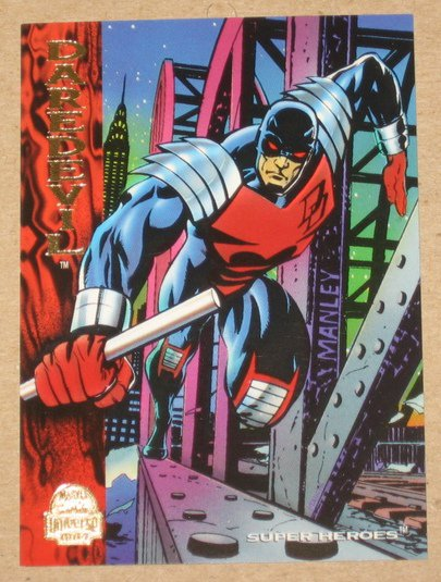 Marvel Universe 1994 (Fleer) Card #188- Daredevil EX-MT