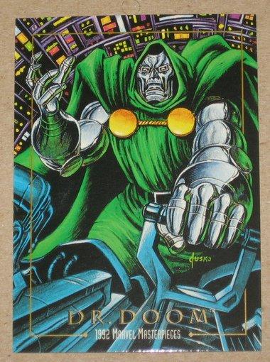 Marvel Masterpieces 1992 (SkyBox) Card #26- Doctor Doom EX-MT