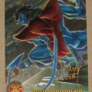 X-Men All Chromium, Fleer Ultra 1995 - Gold-foil Signature Card #27- Nightcrawler EX