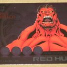 Marvel Heroes and Villains (Rittenhouse 2010) Most Wanted Card M2- Red Hulk EX-MT