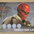Marvel Heroes and Villains (Rittenhouse 2010) Most Wanted Card M7- Red Skull EX-MT