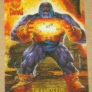 Amalgam (Fleer/SkyBox 1996) Canvas Card #5- Thanoseid VG