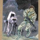 Star Wars Galaxy Series 1 (Topps 1993) Etched Foil Card #6- Princess Leia VG