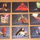 Marvel Heroes and Villains (Rittenhouse 2010) Most Wanted Card Set EX
