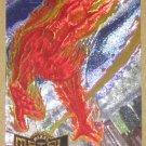 Marvel Metal (Fleer 1995) Metal Blaster Card #6- Human Torch EX