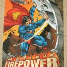 DC Outburst FirePower (Fleer/SkyBox 1996) Maximum Card #6 EX