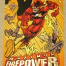 DC Outburst FirePower (Fleer/SkyBox 1996) Maximum Card #10 EX