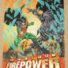 DC Outburst FirePower (Fleer/SkyBox 1996) Maximum Card #19 EX