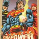 DC Outburst FirePower (Fleer/SkyBox 1996) Maximum Card #20 EX