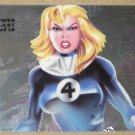 1994 Flair Marvel Universe (Fleer) Power Blast Card #17- Invisible Woman EX