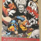 X-Men Origins: Wolverine Movie Classic Confrontations Card G5- Wolverine vs. Wendigo EX