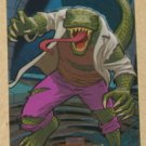 Marvel Masterpieces Set 1 (Upper Deck 2007) Fleer Parallel Foil Card #50- Lizard EX