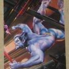 DC versus Marvel (Fleer/SkyBox 1995) Impact Card #12- Beast EX-MT