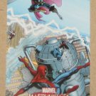 Marvel Masterpieces Set 1 (Upper Deck 2007) Splash Page Card Adams #1 EX-MT
