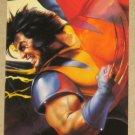 DC versus Marvel (Fleer/SkyBox 1995) Impact Card #18- Wolverine EX