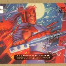 Marvel Masterpieces 1994 (Fleer) Gold-Foil Signature Parallel Card #107- Shatterstar EX