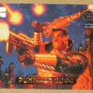 Marvel Masterpieces 1994 (Fleer) Gold-Foil Signature Parallel Card #95- Punisher 2099 EX-MT