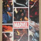 Marvel Heroes and Villains (Rittenhouse 2010) Tri-Fold Poster Card PC2 EX-MT
