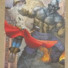 Marvel Heroes and Villains (Rittenhouse 2010) Parallel Card #73- Thor vs. Absorbing Man NM