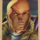 X-Men All Chromium, Fleer Ultra 1995 - Gold-foil Signature Card #9- Professor X EX