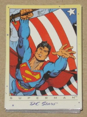 DC Stars (SkyBox 1994) - Full 45 Card Set VG